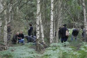 Happy Psychogeophysicists in Rendlesham Forest