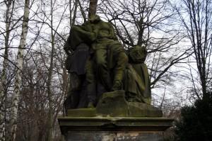 Statue in Tiergarten