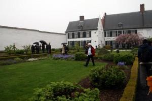Garden, site of Christoph De Boeck and Patricia Portela' piece Hortus