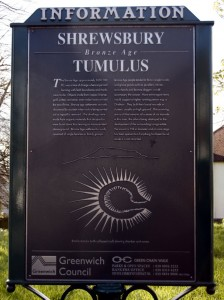 Shrewsbury Tumulus Sign