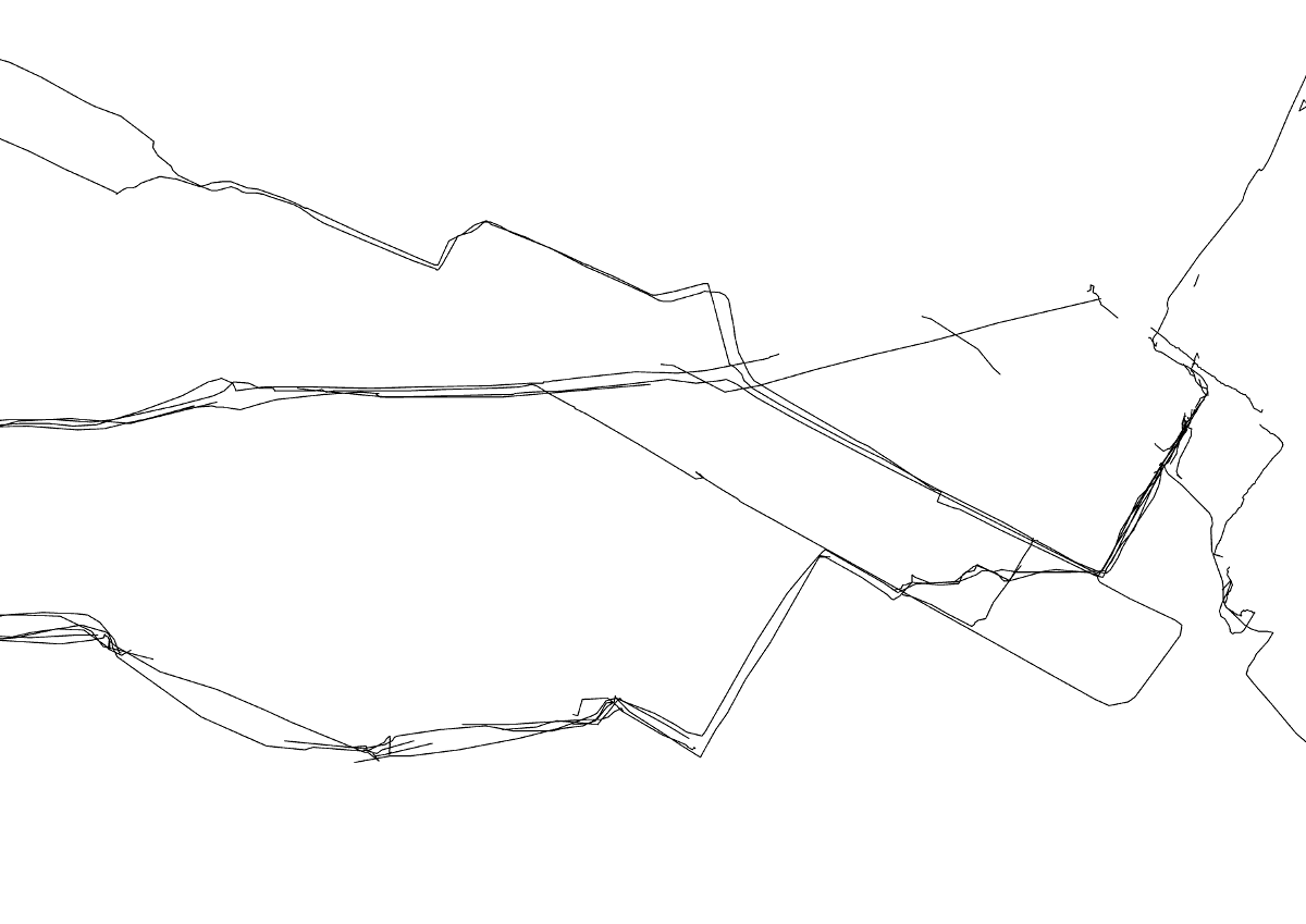 gpx file represented as lines in Qgis